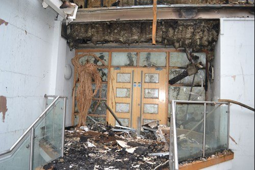 Dorset school fire door
